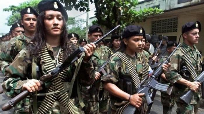 FARC与政府内战多年。