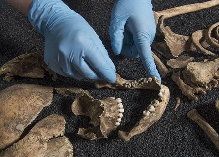 伦敦考古学家宣称发现疑似古代中国人的骸骨。