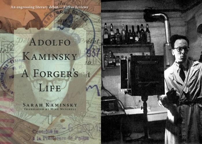 《卡明斯基:伪造文书专家的一生》英文版(左)日前出版。