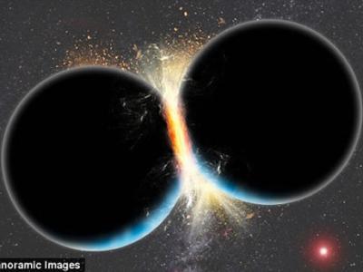 44.5亿年前与另一颗星球的大型碰撞形成地球贵重金属