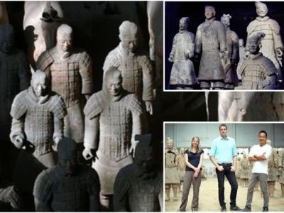 """英国学者指中国秦始皇兵马俑的灵感很可能""""复制""""自古希腊"""