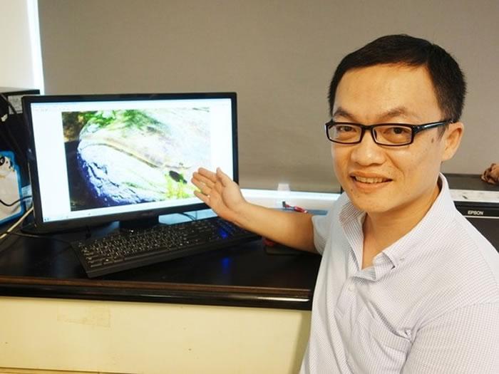 中山大学海洋科学系助理教授廖德裕发现,鱼也吃鱼翅。(图/中山大学)