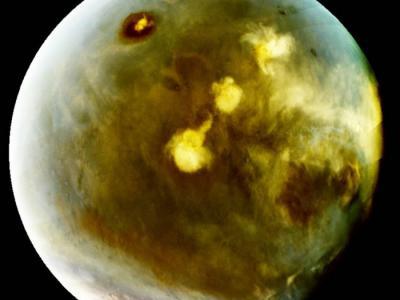 """美国太空总署公布""""火星大气与挥发物演化""""太空船拍摄到的火星大气层惊人影像"""