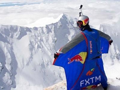 俄罗斯跳伞运动员Valery Rozov从喜马拉雅山卓奥友峰跳伞再刷新世界纪录