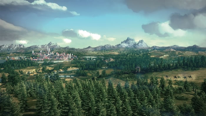 《巫师3:狂猎》中的世界极为广阔。