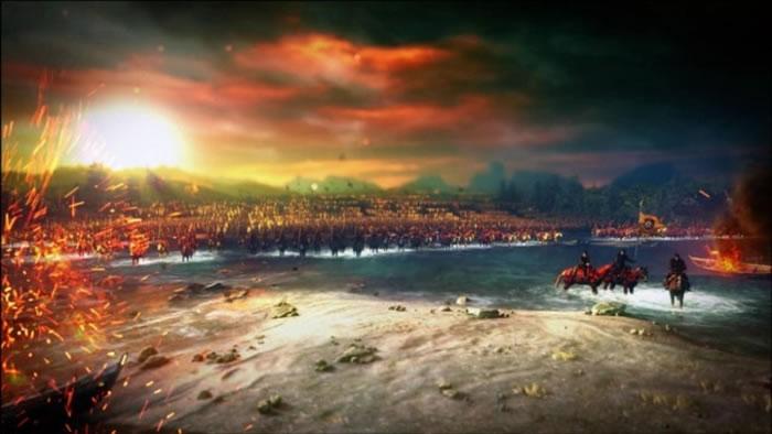 在小说中,尼弗迦德大军进军北方王国。
