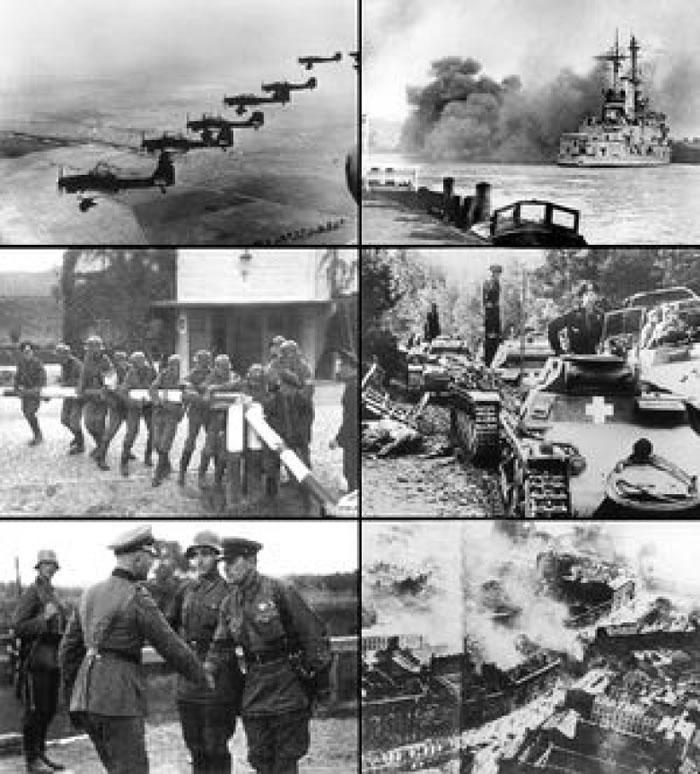 波兰在历史上屡遭邻国入侵。