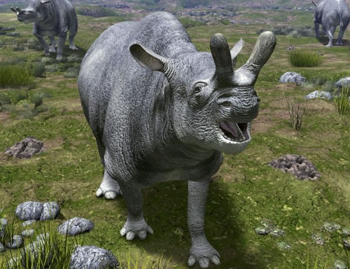 始新世时期见证了雷兽等哺乳动物的大发展。