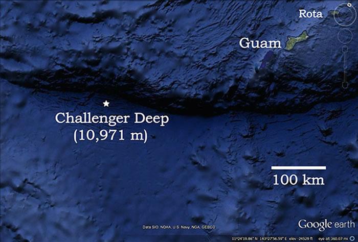 探索来自全球最深太平洋马里亚纳海沟的声音