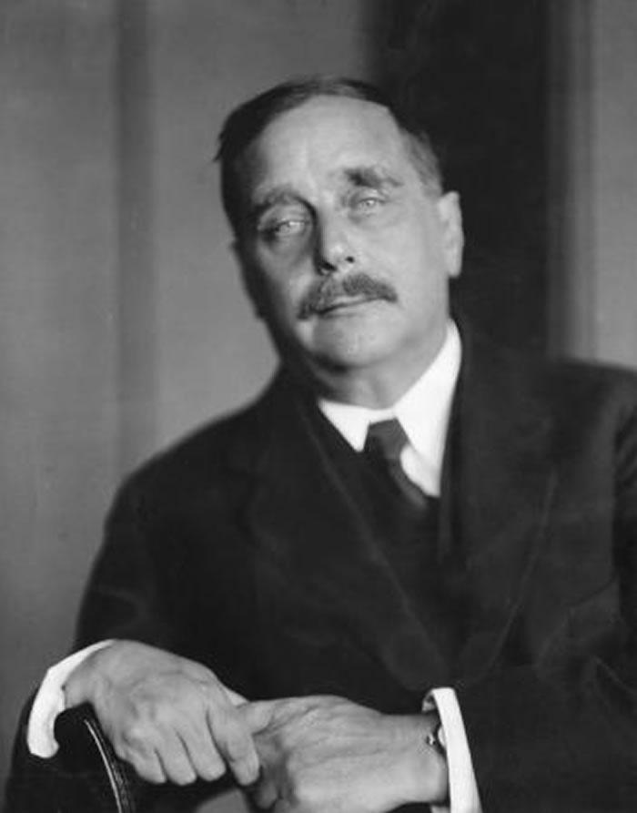 H.G.威尔斯在他的小说《时光机器》中介绍了时间旅行的概念。 PHOTOGRAPH BY ULLSTEIN BILD, GETTY