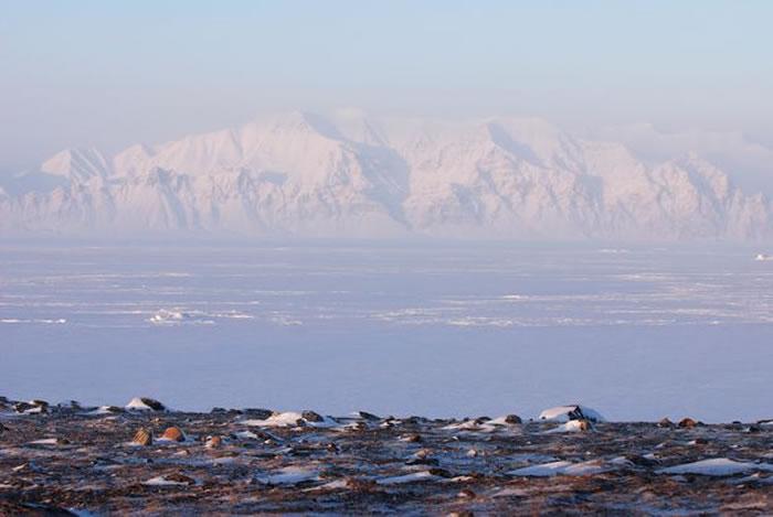 北极靠近格陵兰岛的加拿大努纳福特地区从海底传来神秘声响