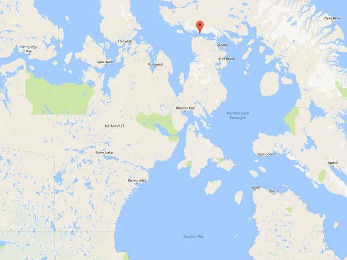 近几个月常常在靠近北极的弗里和赫克拉海峡(Fury and Hecla Strait)听见奇怪的声音从海底传来