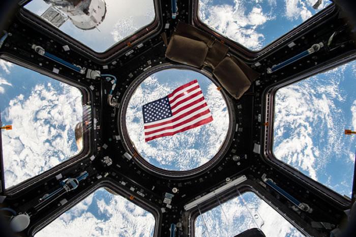在国际太空站上,也能投下神圣一票