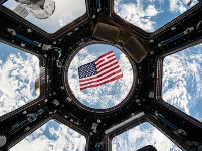在国际空间站的美国太空人投票总统大选