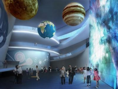 上海天文馆在临港新城开工兴建 建筑面积全球最大