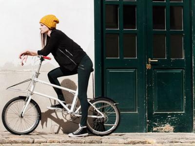奥地利公司推出一款可以在行驶时自行充电的折合电动单车