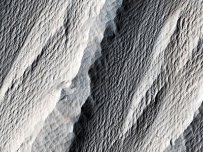 火星地貌多样化 沉积岩纹理判断风向