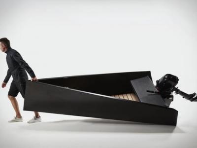 美国设计师Joey Ruiter设计等腰三角形快艇