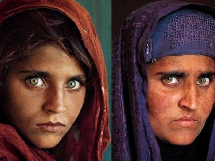 古拉早年(左图)和现时(右图)模样。