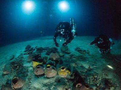 马耳他潜水队在戈佐岛海底发现腓尼基人商船 是地中海发现的最古老沉船