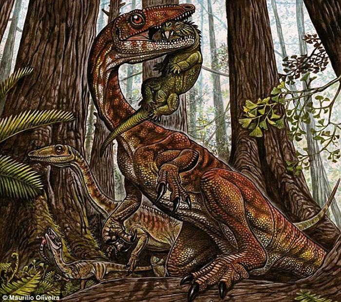 恐龙物种的崛起比之前预想的更加平缓