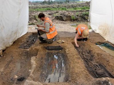 英国诺福克郡发现1100年前盎格鲁撒克逊人坟墓