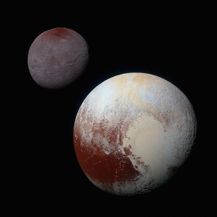 冥王星的体积比地球小。