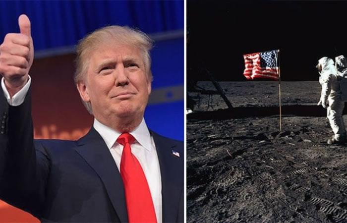 特朗普上任后有可能开拓新的月球殖民计划 使美国成为首个在月球上拥有国土的国家