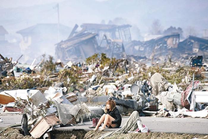 东日本大地震破坏力惊人。