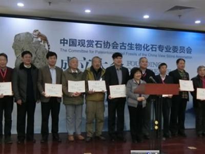中国观赏石协会古生物化石专业委员会成立大会在京召开
