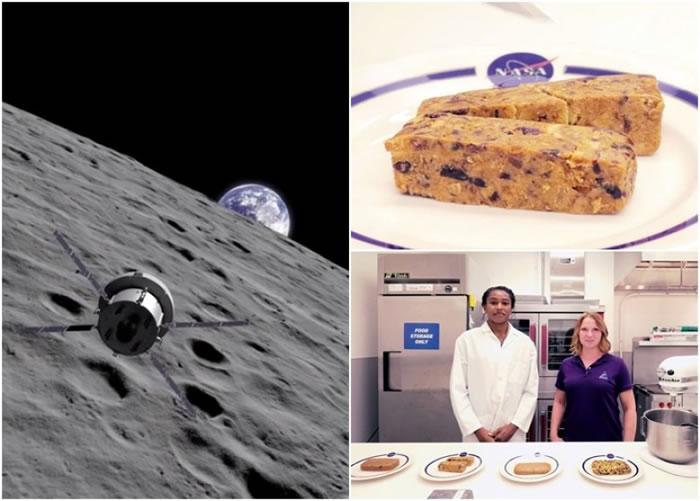 "NASA公开片段披露""猎户座""太空人的早餐原来是食物条。"