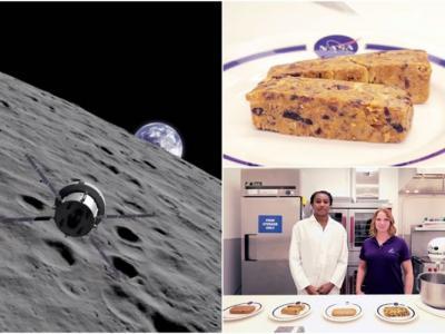"""NASA公开片段披露""""猎户座""""太空人早餐的神秘面纱 原来是能量条"""