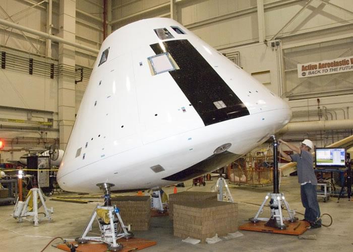 猎户座太空船预计在2021年正式载人上太空。