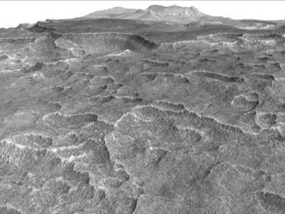 火星上巨大的沉积物冰冻水位与地球上最大淡水湖苏必利尔湖一样多