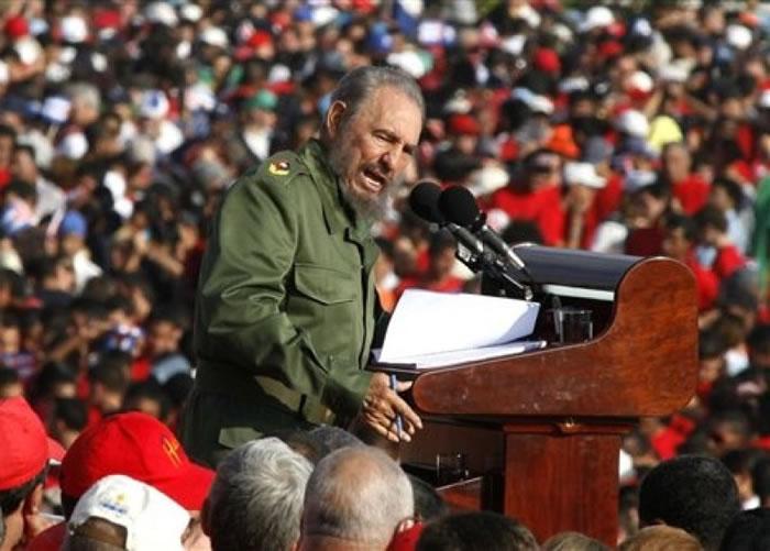 卡斯特罗为全球社会主义的标志人物。