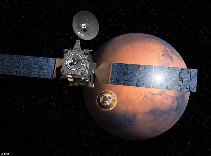 """欧洲火星登陆器夏帕雷利号""""死因""""公布:仅一秒的计算失误所致"""