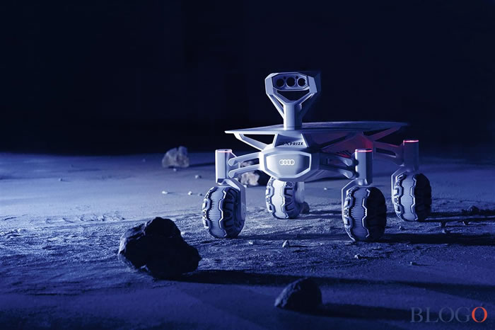 德国奥迪Audi Lunar Quattro宣布明年登月