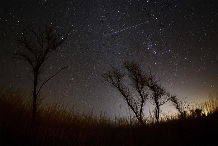 2016年12月14日双子座流星雨极大期
