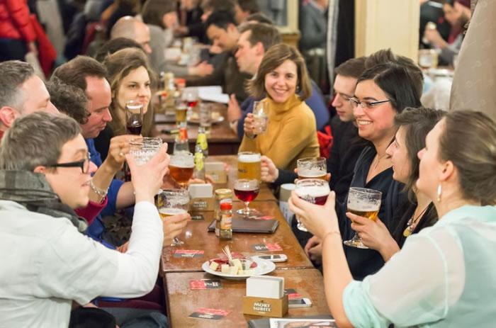 """啤酒可谓比利时的""""国粹""""。"""