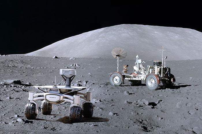 德国科学团队与奥迪汽车联手开发太阳能登月车 计划探访阿波罗17号登月点