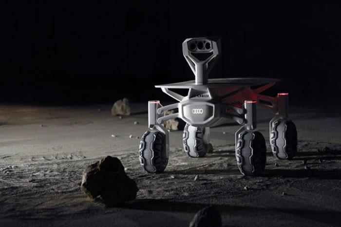 德国科学团队与奥迪汽车联手开发太阳能登月车,计划探访阿波罗17号登月点