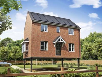 英国建筑公司创自动升起房子 避洪水减损失