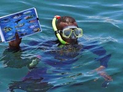 明白大海资源非无限 肯尼亚渔夫Ahmed Mohamed转行救珊瑚
