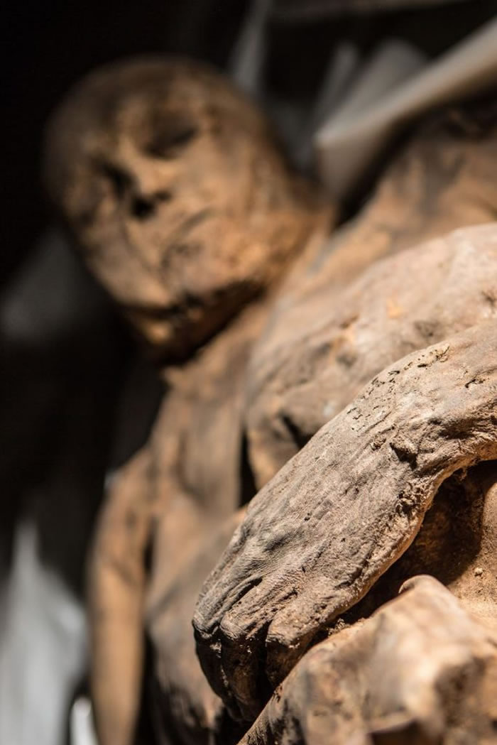 立陶宛教堂发现了几具自然风化的木乃伊,其中一具孩童木乃伊身上发现了已知最古老的天花病毒样本。 PHOTOGRAPH BY KIRIL CACHOVSKIJ, D