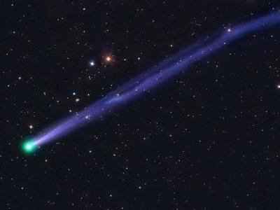 绿头彗星45P/Honda-Mrkos-Pajdušáková陪你迎接2017年来临