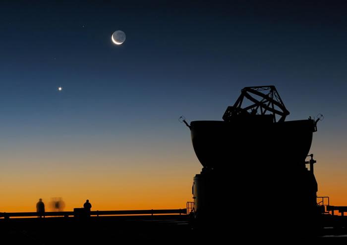 2017年1月31日金星合月