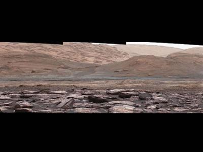 火星显露出紫色岩石 或助了解水源消失原因