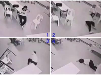 马来西亚女子声称被鬼袭击 桌椅自行移动挡去路