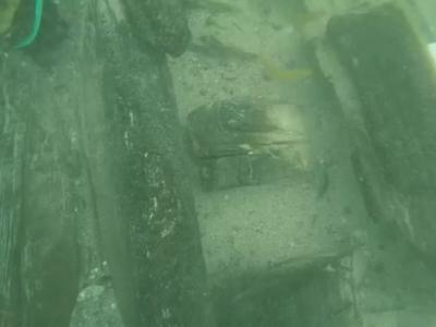 """黑海沉船""""墓地""""其中一艘或为英国海军舰艇 160多年前在克里米亚战争期间沉没"""