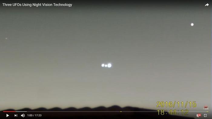 美国内华达州军事禁区第51区上空惊现发光圆球 再惹UFO疑云